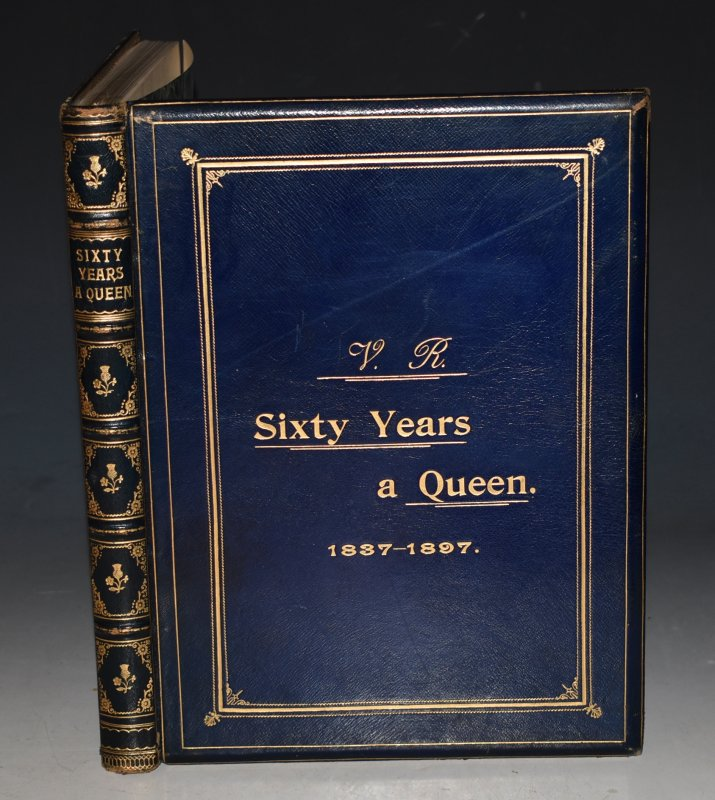 Image for Sixty Years a Queen. The Story of Victoria's Reign. Illustrated chiefly from the Royal Collections by Special Permission.