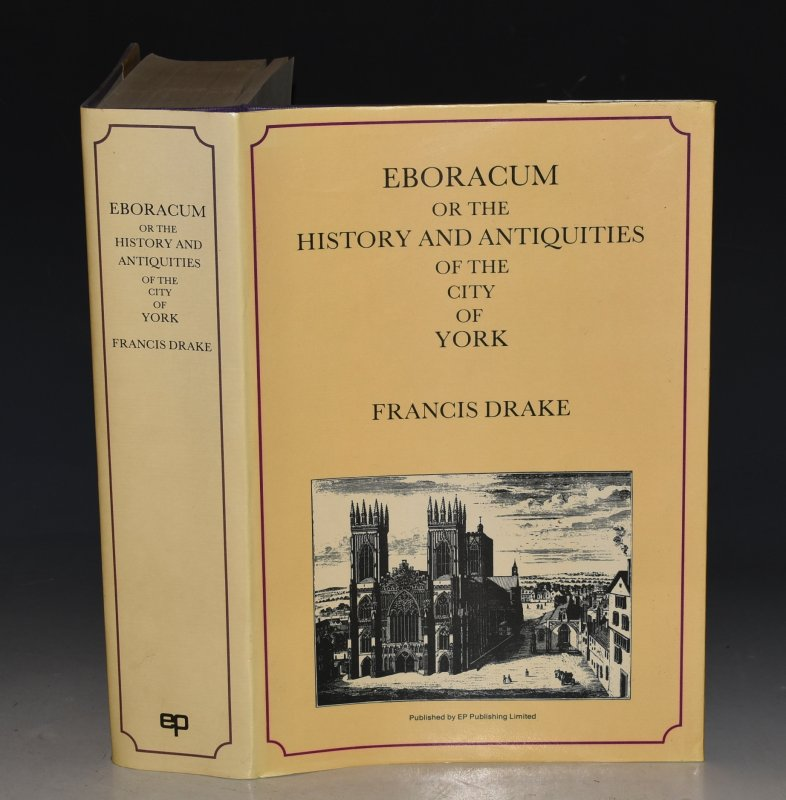 Image for Eboracum: Or, The History and Antiquities of the City of York Reprint edition. With a new introduction by K.J. Allison. General Editor W.B. Stephens.