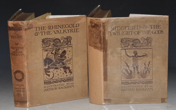 Image for The Ring of the Niblung. A Trilogy. With a Prelude by Richard Wagner. Translated by Margaret Armour. The Rhinegold & The Valkyrie. AND: Siegfried & The Twilight of the Gods. In Two Volumes.