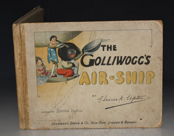 Image for The Golliwogg's Air-Ship. Verses by Bertha Upton. Pictured by Florence K. Upton.