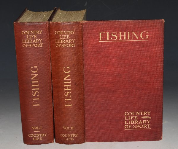 "Image for Fishing. First and Second Volume. The ""Country Life"" Library of Sport. In Two Volumes."