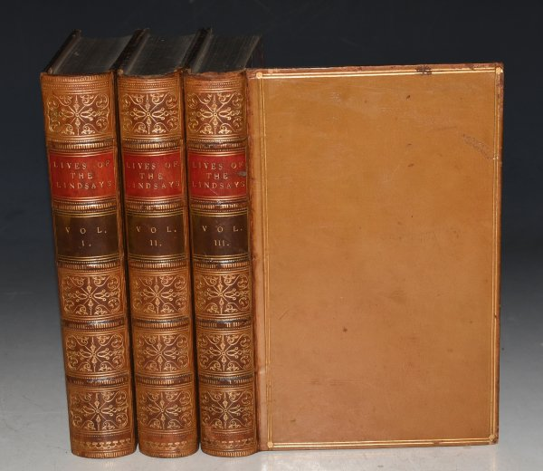 Image for Lives of the Lindsays; Or, A Memoir of the Houses of Crawford and Balcarres. Second Edition. In Three Volumes.