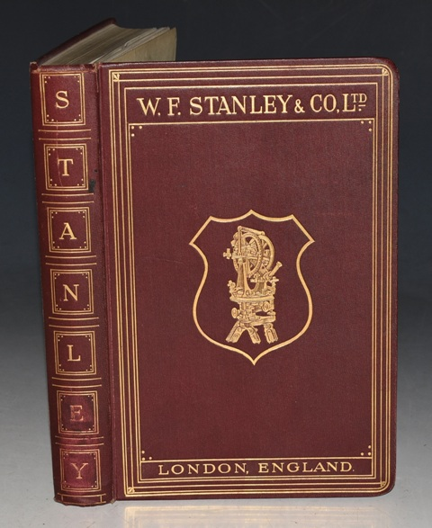 "Image for Catalogue of W.F. Stanley & Co. Limited Manufacturers of Surveying, Mathematical, Drawing, Optical and Scientific Instruments, and Drawing Office Stationers and Furnishers. Est. 1853. Thirty Second ""P"" Edition, Copyright. With 1937 Revisions."