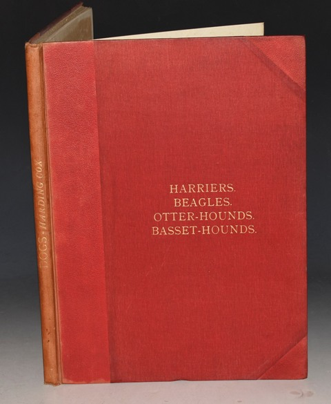 Image for Harriers, Beagles, Otter-Hounds and Basset-Hounds. Dogs By Well-Known Authorities. Volume II. Part VII. Profusely illustrated with full-page plates finely printed in colours and in photogravure from originals specially painted for this work.