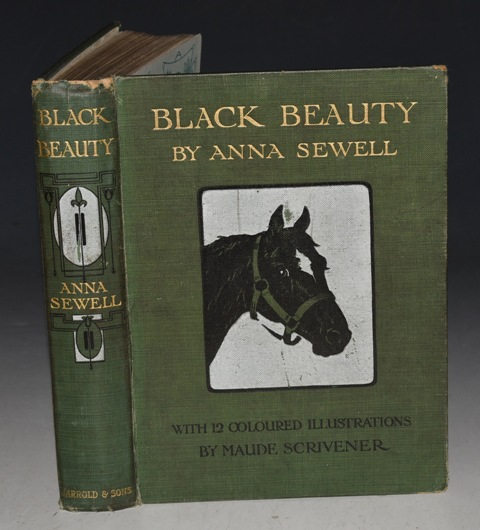 Image for Black Beauty. The Autobiography of a Horse. Illustrated by by Maude Scrivener.