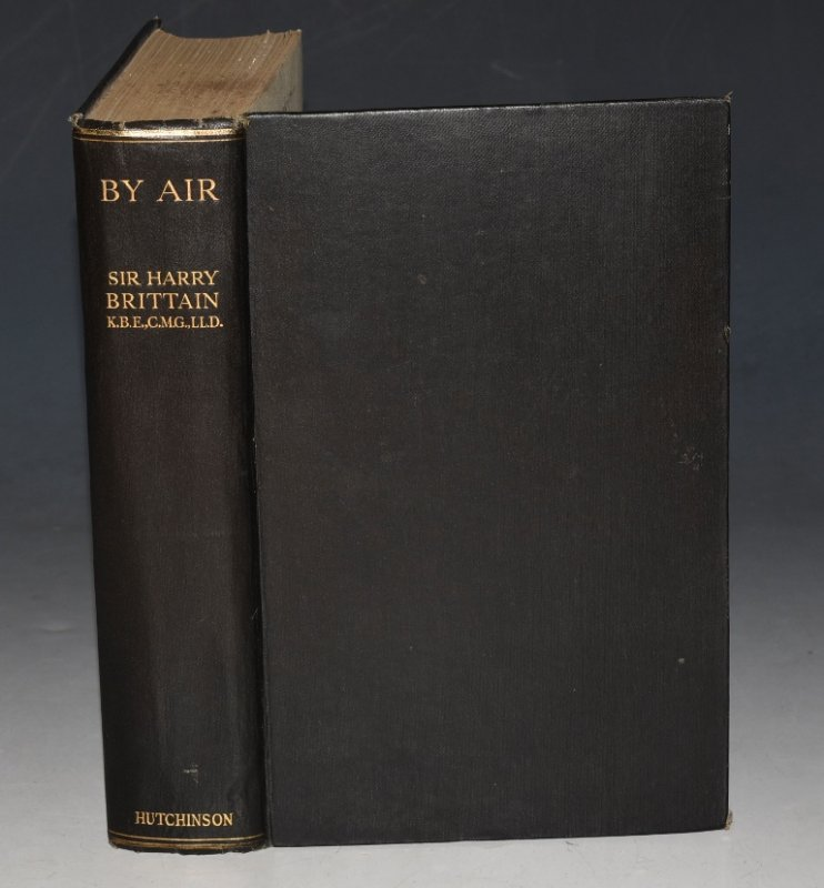 Image for By Air With an introduction by the Most Hon. The Marquess of Londonderry, Secretary of state for Air. With 88 Illustrations. SIGNED.