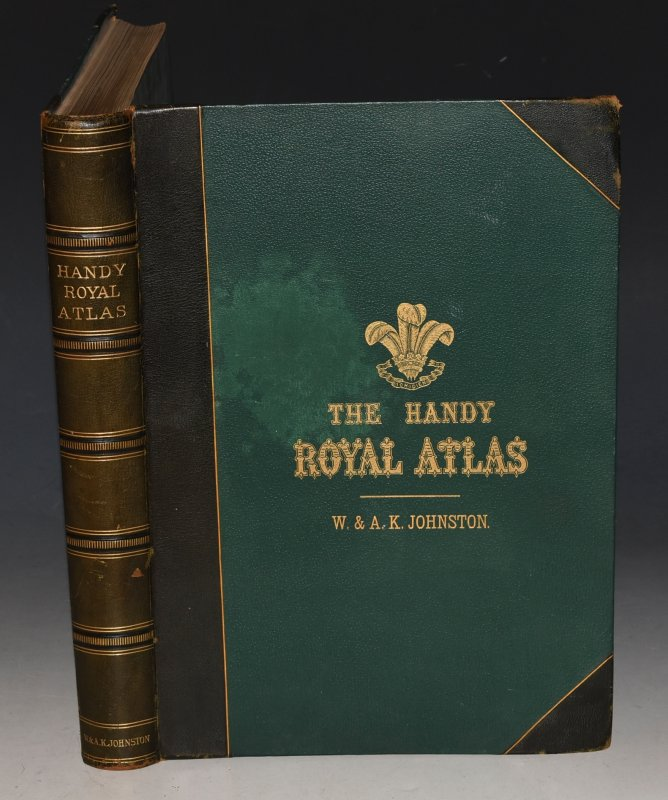 Handy Royal Atlas of Modern Geography  Exhibiting the present condition of  geographical discovery and research in the several countries, empires and