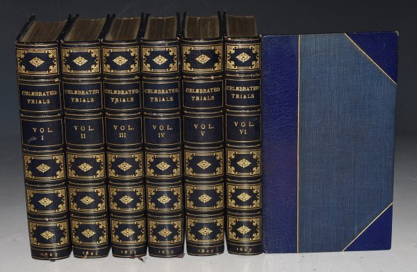 Image for Celebrated Trials and Remarkable Cases of Criminal Jurisprudence, from the Earliest Records to the Year 1825. In Six Volumes.