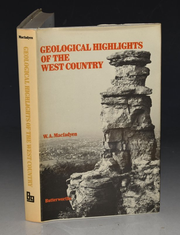Image for Geological Highlights of the West Country. A Nature Conservancy Handbook. With contributions by Dr. A. Kingsbury.