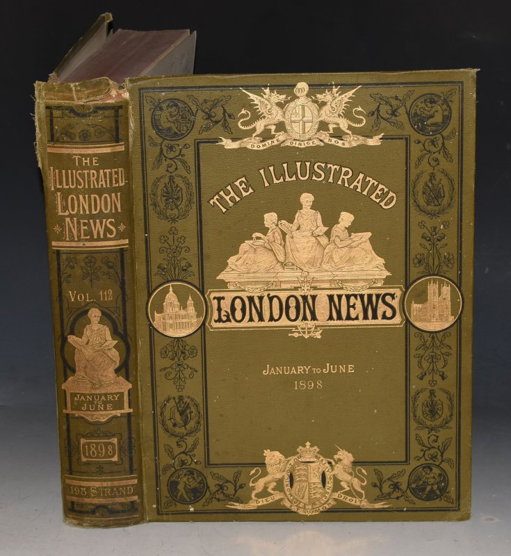 Image for THE ILLUSTRATED LONDON NEWS. Jan.-June 1898. Vol. 92. XCII