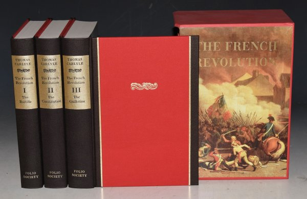 Image for The French Revolution. A History. In Three Volumes, with Slipcase. The Bastille; The Constitution; The Guillotine. Introduction by Richard Cobb.