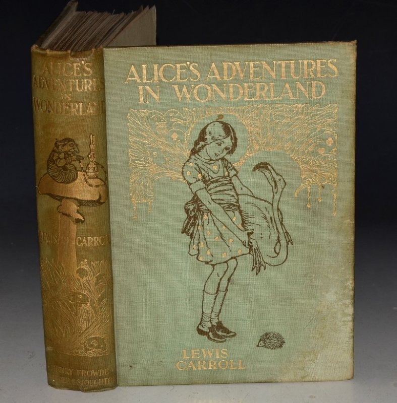 Image for Alice's Adventures In Wonderland. Illustrated in Colour by A. E. Jackson.