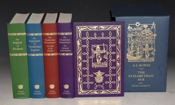 Image for The Elizabethan Age. The England of Elizabeth; The Expansion of Elizabethan England; The Life of the Society; & The Cultural Achievement. Four Volumes in Slipcase.