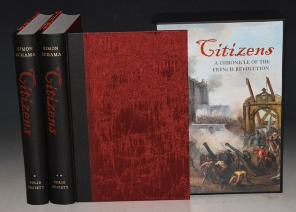 Image for Citizens A Chronicle of the French Revolution. Two Volumes in Slipcase.