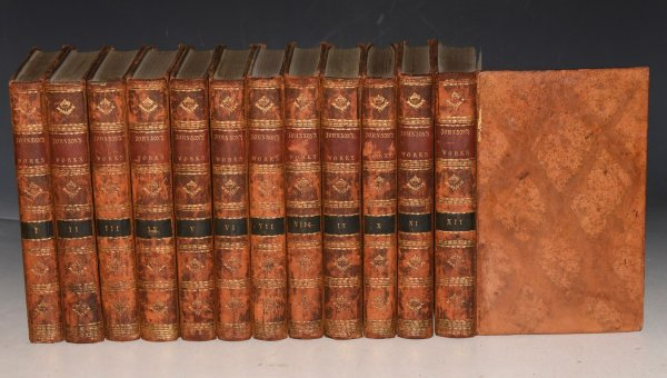 Image for The Works of Samuel Johnson. In Twelve Volumes. With an Essay on His Life and Genius by Arthur Murphy, Esq.