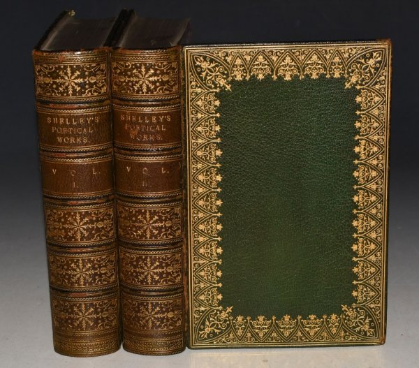 Image for The Poetical Works of Percy Bysshe Shelley: Including Various Additional Pieces from Ms. and Other Sources. The Text carefully revised, with notes and a Memoir by W.M. Rossetti. In Two Volumes.