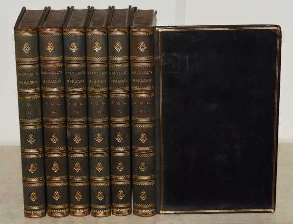Image for Melville's Sermons Complete in Six Volumes. Minister of Camden Chapel, and Chaplain to the Tower of London.