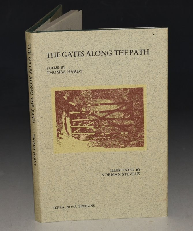 Image for The Gates Along the Path. Poems by Thomas Hardy. Illustrated by Norman Stevens.