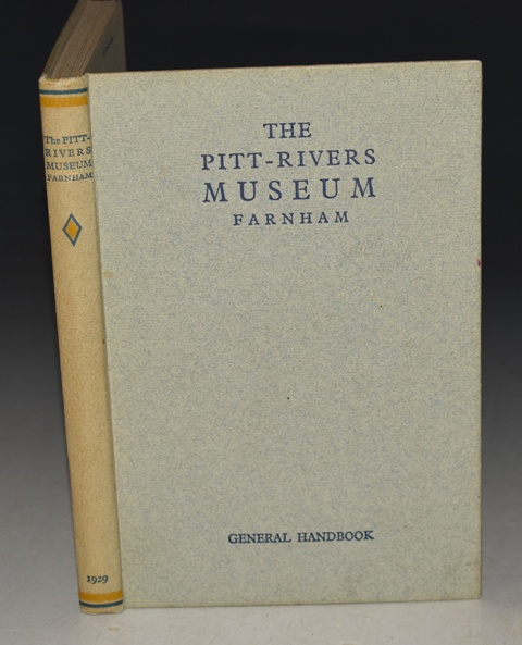 Image for The Pitt-Rivers Museum. Farnham. General Handbook. Edited by L.H. Huxley-Buxton.