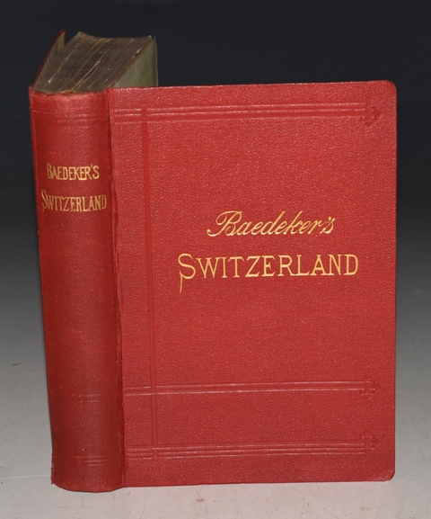 Image for Switzerland, and the adjacent portions of Italy, Savoy, and Tyrol. Handbook for Travellers. With 59 Maps, 13 Plans, and 11 Panoramas.