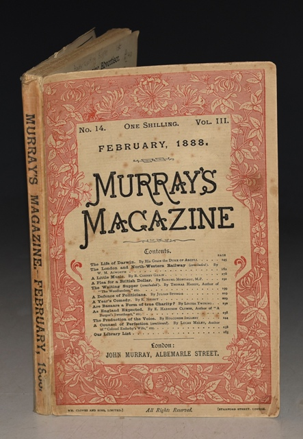 "Image for Murray's Magazine Februray 1888 No. 14. Vol. III. ""The Waiting Supper"" Concluded."