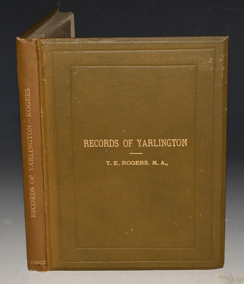 Image for Records of Yarlington Being the history of a country village. Second Edition, Revised and Enlarged. With SIGNED AUTHOR'S LETTER.