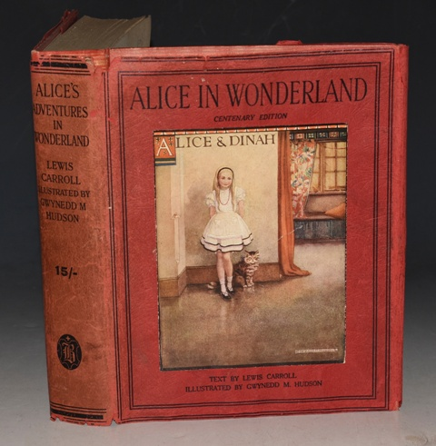 Image for Alice's Adventures in Wonderland Centenary Edition. Illustrated by Gwynedd M. Hudson.