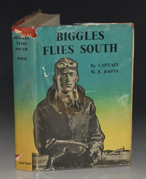 Image for Biggles Flies South Illustrated by Jack Nicolle.