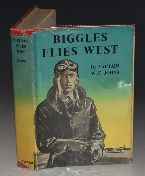 Image for Biggles Flies West Illustrated by Alfred Sindall.