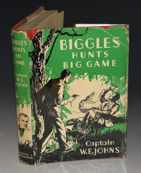 Image for Biggles Hunts Big Game. A Story of Sergeant Bigglesworth C.I.D. and his Special Air Police.