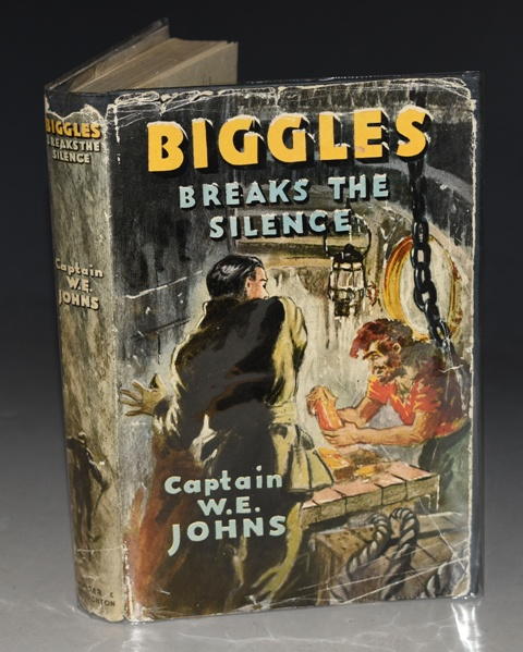 Image for Biggles Breaks the Silence An Adventure of Sgt. Biggleworth of the Special Air Police and His Comrades of the Service.
