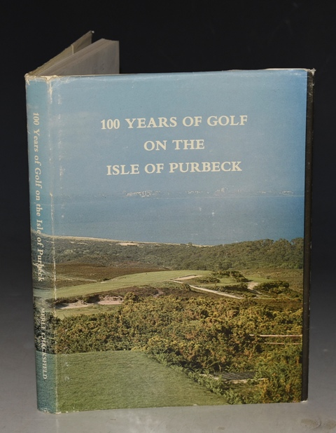Image for 100 Years of Golf on the Isle of Purbeck. 1892-1992. Golf Club Centenary.