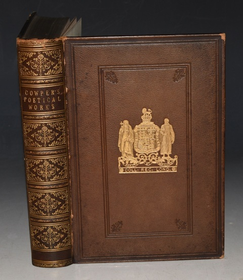 Image for The Poetical Works of William Cowper With a biographical memoir of the author. Illustrated with Eighteen Engravings on Steel, after designs by Wm. Harvey.
