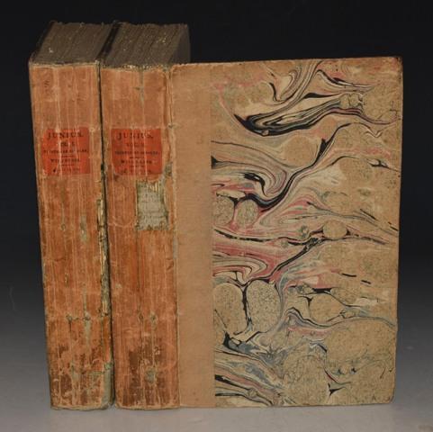 """Junius. The Letters of Junius. """"Stat Nominis Umbra."""" In Two Volumes."""