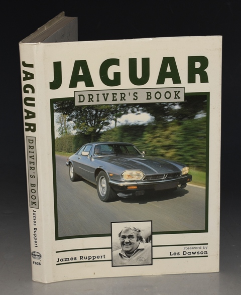 Image for Jaguar Driver's Book Foreword by Les Dawson.