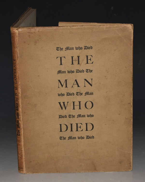 Image for The Man Who Died. With illustrations drawn and engraved on the wood by John Farleigh. Arranged by J.H. Mason. Printed by W. Lewis at Cambridge