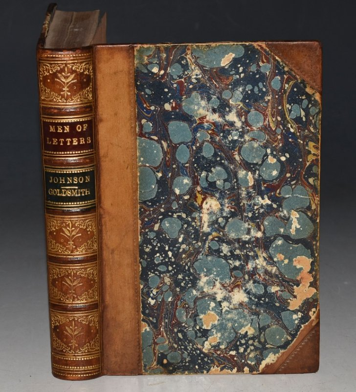 Image for Samuel Johnson AND Goldsmith. English Men of Letters Series. Edited by John Morley. Two Volumes Bound in One.