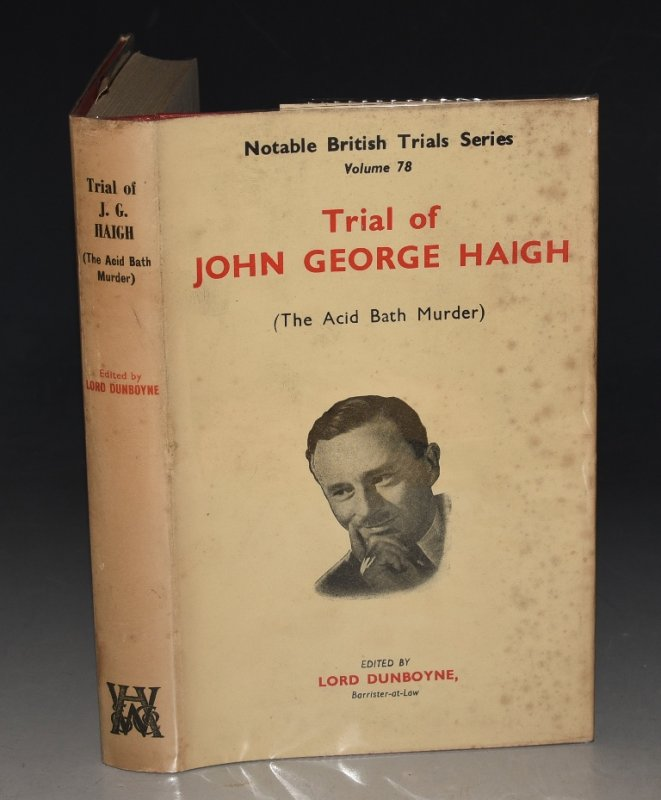 Image for The Trial of John George Haigh. The Acid Bath Murder. Notable British Trials.