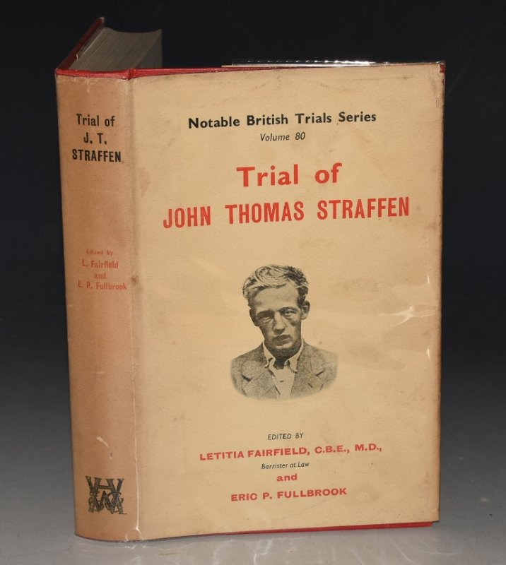 Image for Trial of John Thomas Straffen. Notable British Trials. Volume 80.