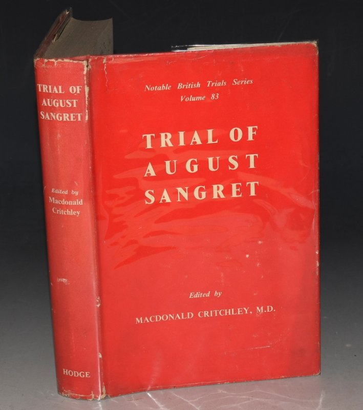 Image for Trial of August Sangret Notable British Trials Series. Vol. 83.