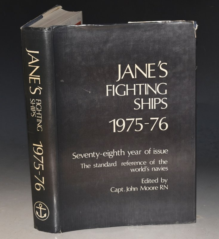Image for Jane's Fighting Ships 1975-76. Seventy-Eighth Issue.
