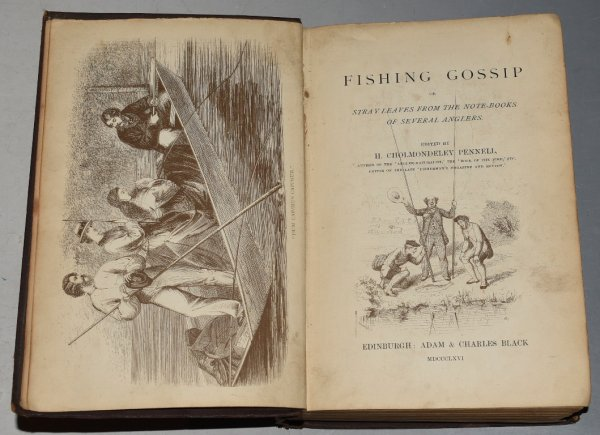 Image for Fishing Gossip Or Stray leaves from the note-books of several anglers.