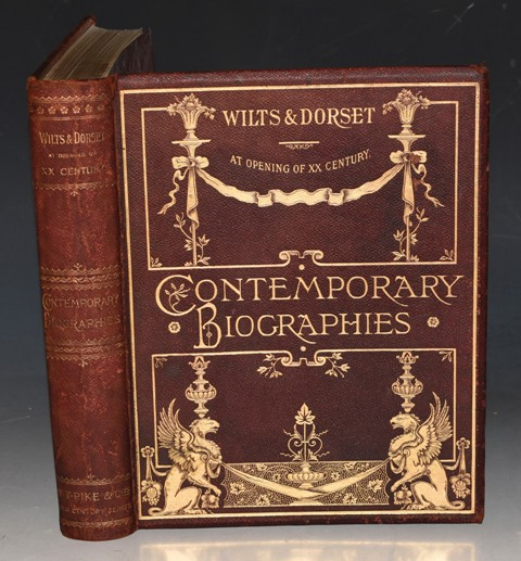Image for Wilts and Dorset At Opening of XX Century. Contemporary Biographies. Pike's New Century Series No. 16.