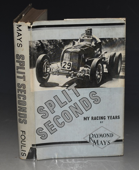 Image for Split Seconds. My racing years.