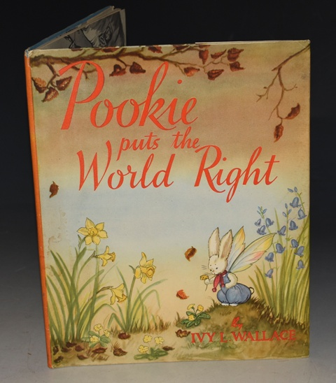 Image for Pookie Puts The World Right Written and Illustrated by Ivy L. Wallace.