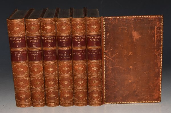 Image for The Works of Alfred Tennyson, Poet Laureate. In Five Volumes (Bound in Six.)