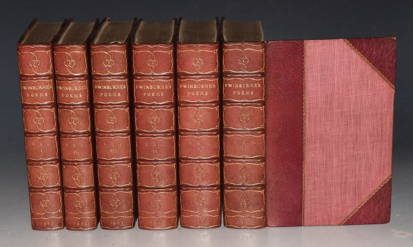 Image for The Poems of Algernon Charles Swinburne in Six Volumes