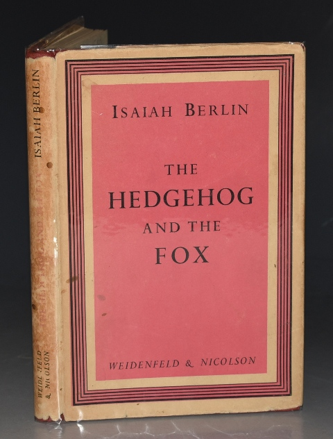 Image for The Hedgehog and The Fox An essay on Tolstoy's view of history.