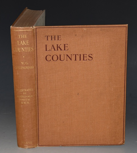 Image for The Lake Counties With Special Articles on Birds, Butterfies & Moths, Flora, Geology, Fox-Hunting, Mountaineering, Yachting, Motor-Boating, Fishing, Shooting & Cycling. And including a Full Gazetteer and Map, with Sixteen Plates in Colour and Seventy-Two Line Illustrations by A. Reginald Smith.