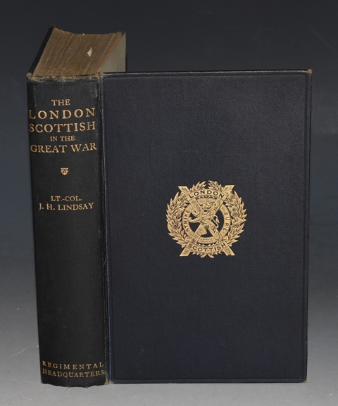 Image for The London Scottish in The Great War With a foreword by Field-Marshal Earl Haig.